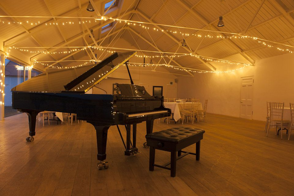 an evening recital at Crear | Coastal wedding venues ...