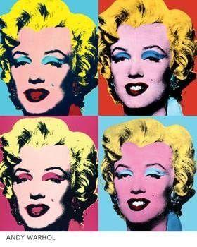Getting Inspired | Pop art, Andy warhol and Marilyn monroe pop art