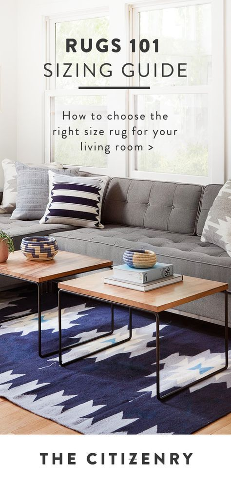 captivating choosing rug size living room | Learn how to choose the right size rug for your living ...
