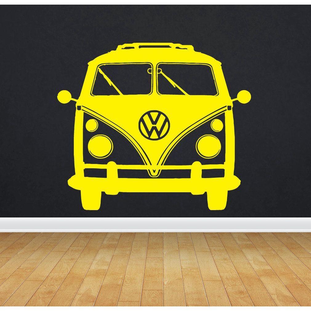 VW Bus Bulli Sticker Vinyl Wall Art   cameo   Pinterest   Vinyl wall ...