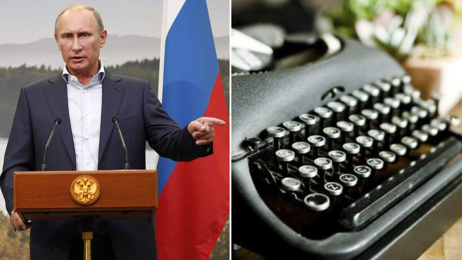 Kremlin Typewriters: Russian Plan To Stop Leaks - A Kremlin agency looks to safeguard Russia's security by ditching computer hardware for old-school typewriters.