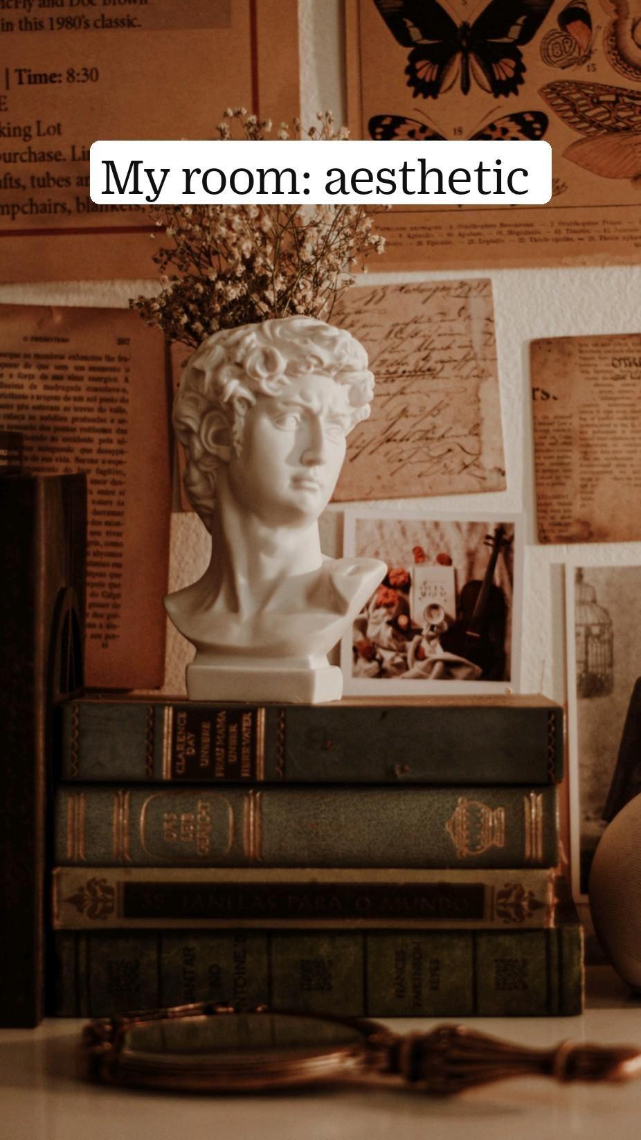 My room: aesthetic