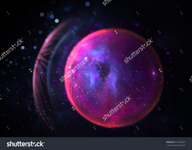 Fractal Sparkling Sphere  - Fractal Art