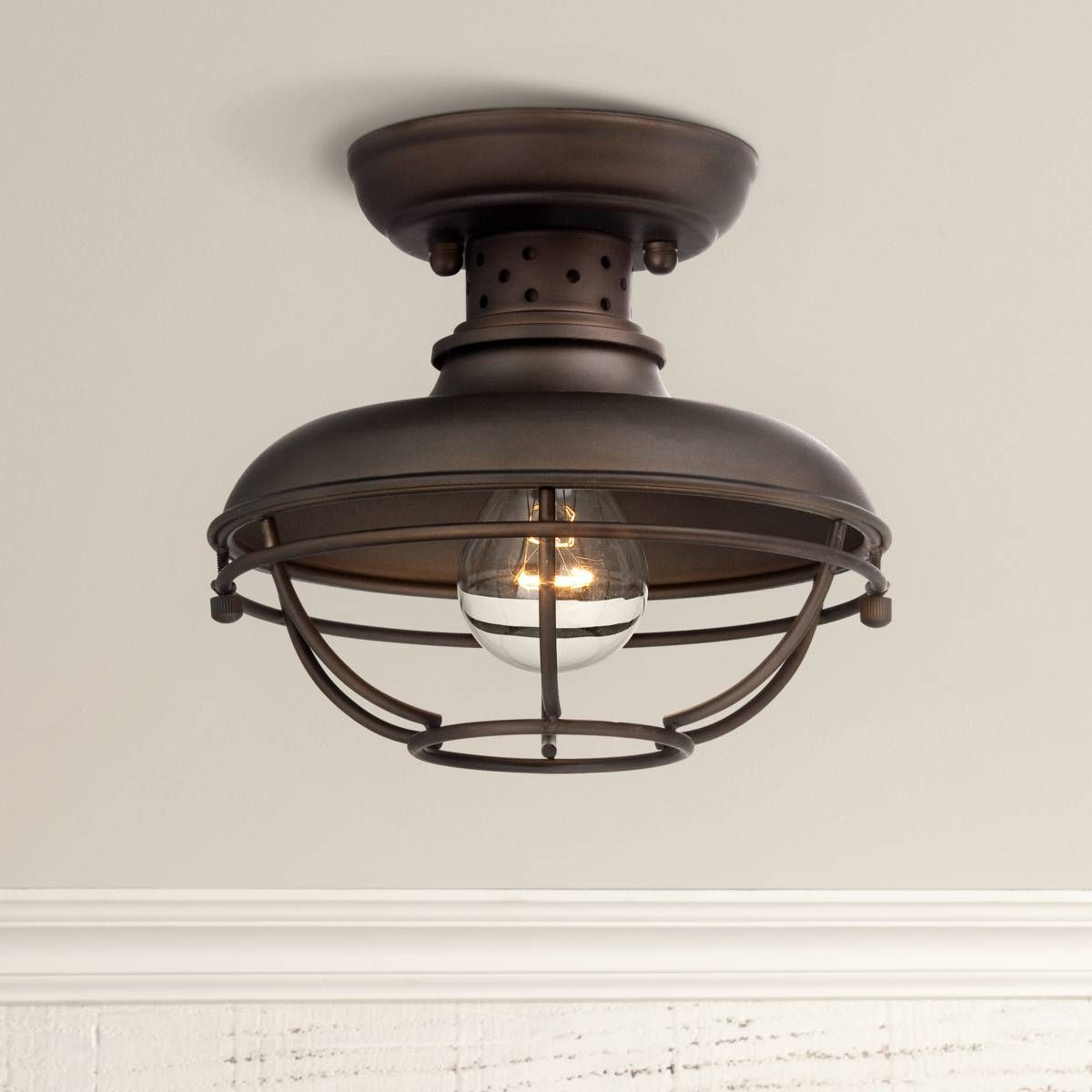 83 Reference Of Lamps Plus Flush Mount In 2020 Outdoor Ceiling Lights Ceiling Lights Porch Lighting