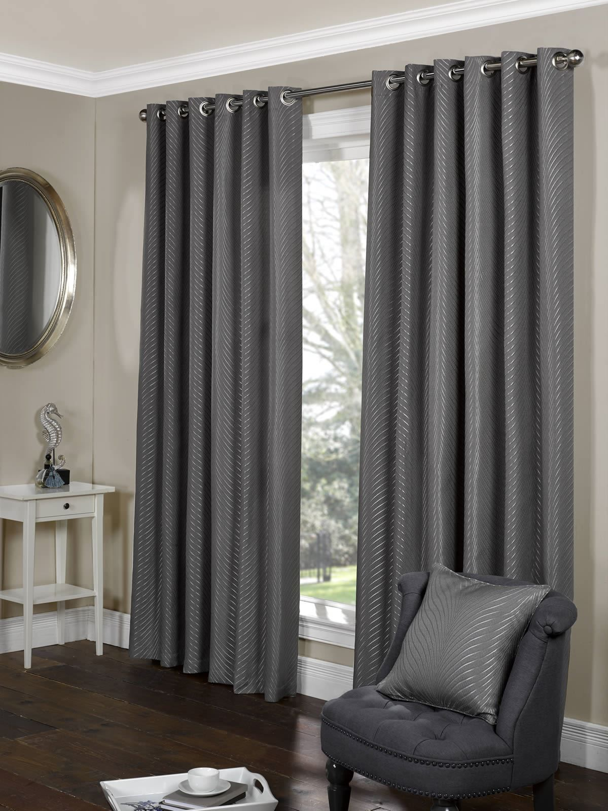 Image Result For Charcoal Curtains For Living Room Curtains Curtains Uk Ready Made Eyelet Curtains Living room curtains pictures