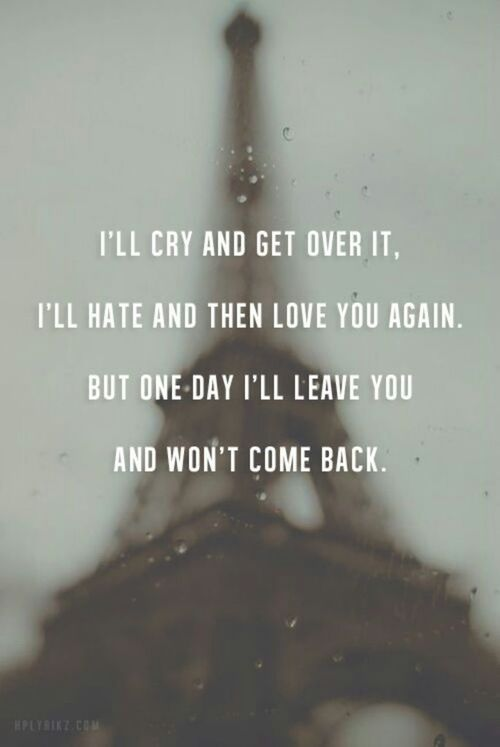 One Day I Ll Be Gone Quotes : quotes, Leave, You..., Quotes, About, Moving, Daily, Inspiration, Quotes,