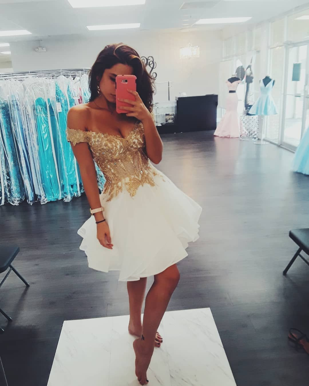 Kaitlyn On Instagram I M Very Obsessed With This Sherri Hill Short Dress It S Beautiful Sherrihill Dresses Sherri Hill Short Dresses Short Dresses [ 1350 x 1080 Pixel ]