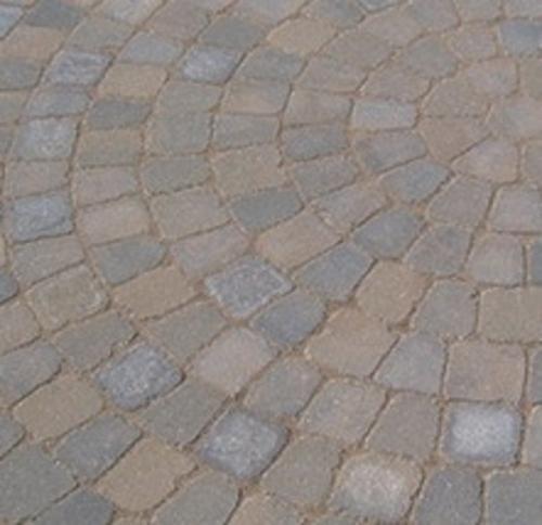 9 5 Tumbled Belgian Circle Kit At Menards Menards Paver Patio Pavers