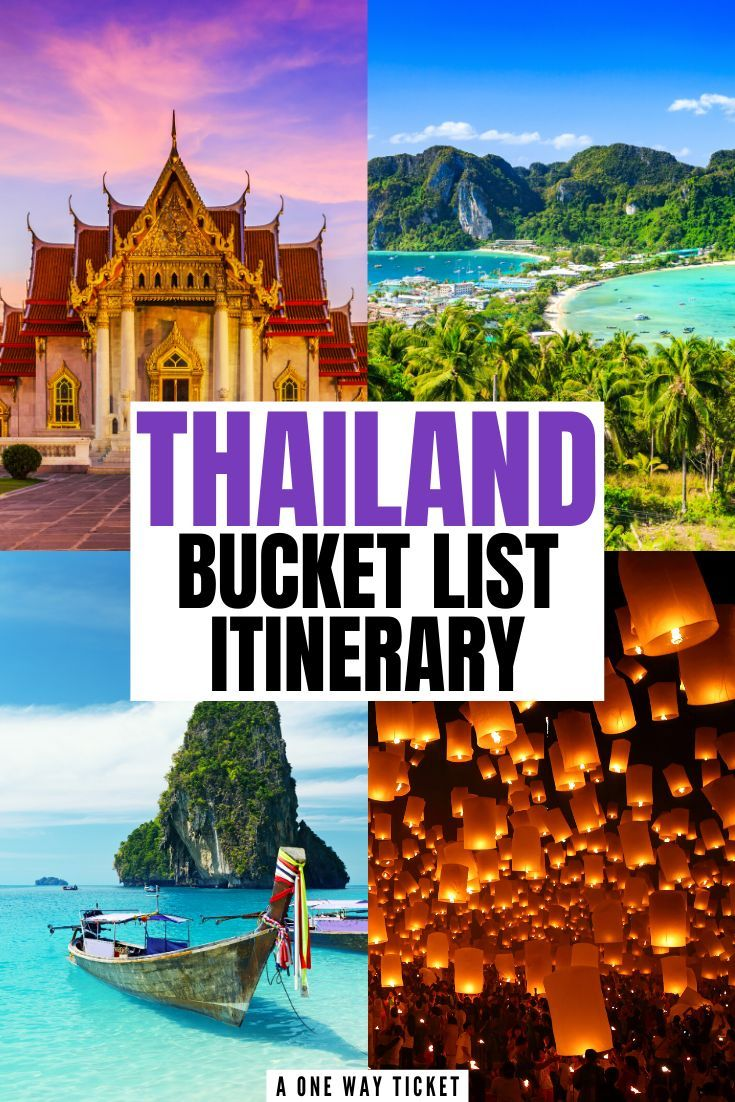 The Perfect Way to Spend 10 Days in Thailand | A One Way Ticket -   19 travel destinations Thailand country ideas