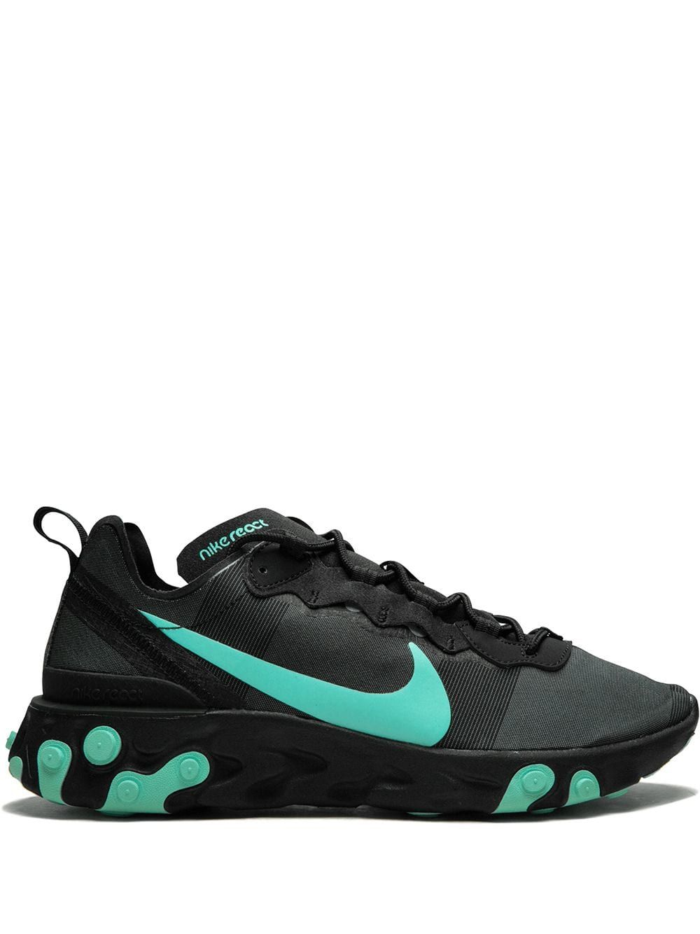 Nike React Element 55 Sneakers | Nike, Sneakers, Black nikes