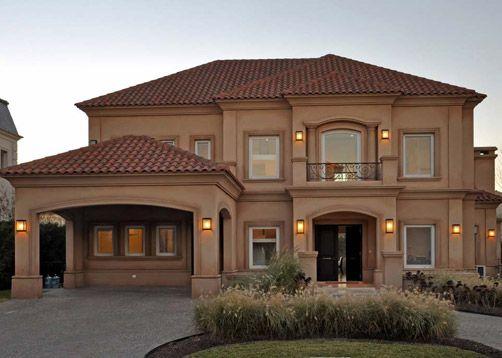 Casas estilo toscano buscar con google dulce hogar - Casas con estilo ...