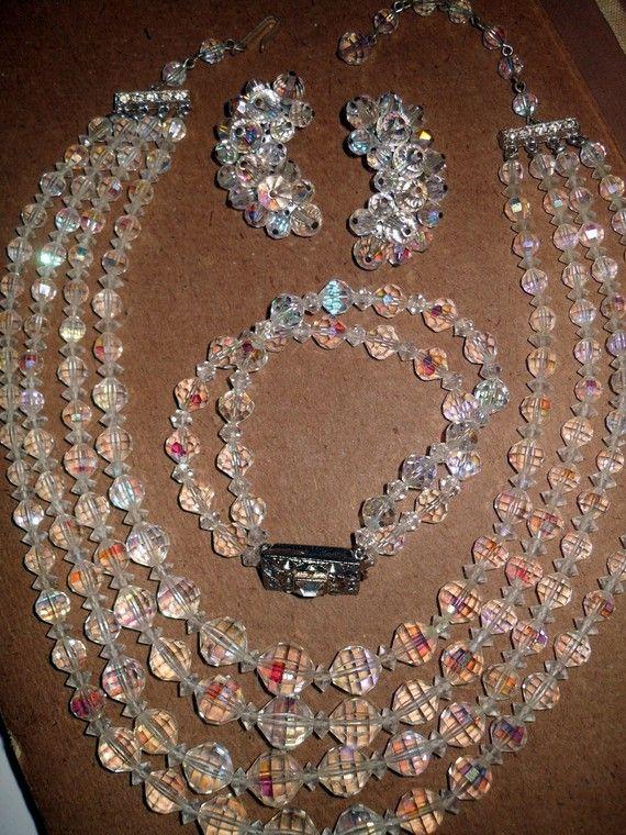 Fall wedding adjustable necklace WEDDING piece Bridesmaid gift OOAK Vintage Fall Warm Tones TopazCitrineBrown Crystal Necklace