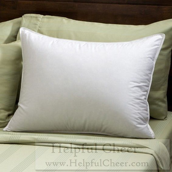 Soft Density 400 Thread Count Goose Down Pillow - at - 0153 - Your Online Dow