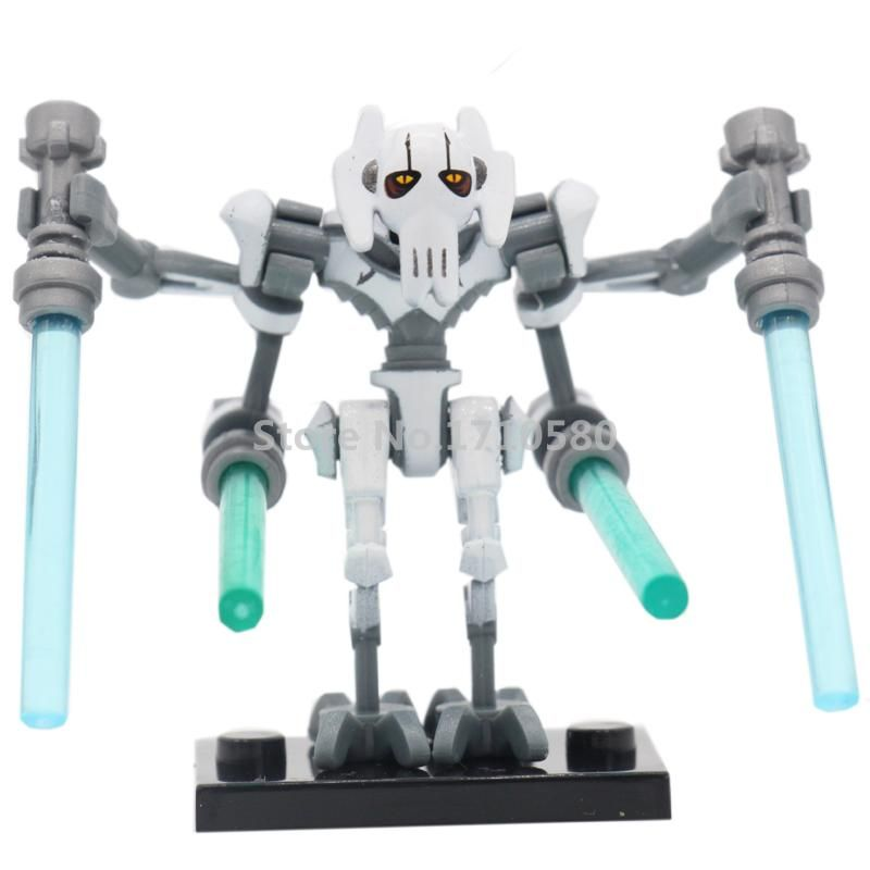 Pg630 Star Wars 7 Pogo Figures General Grievous Single Sale Building Blocks The Force Awakens Starwars S Blocos De Construção Conjuntos De Brinquedos Star Wars
