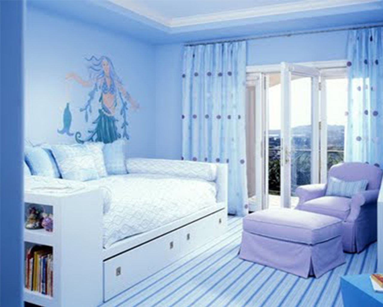 innovative blue white bedroom ideas teenage girls | Bedroom : Bedroom Ideas For Teenage Girls Kids Twin Beds ...