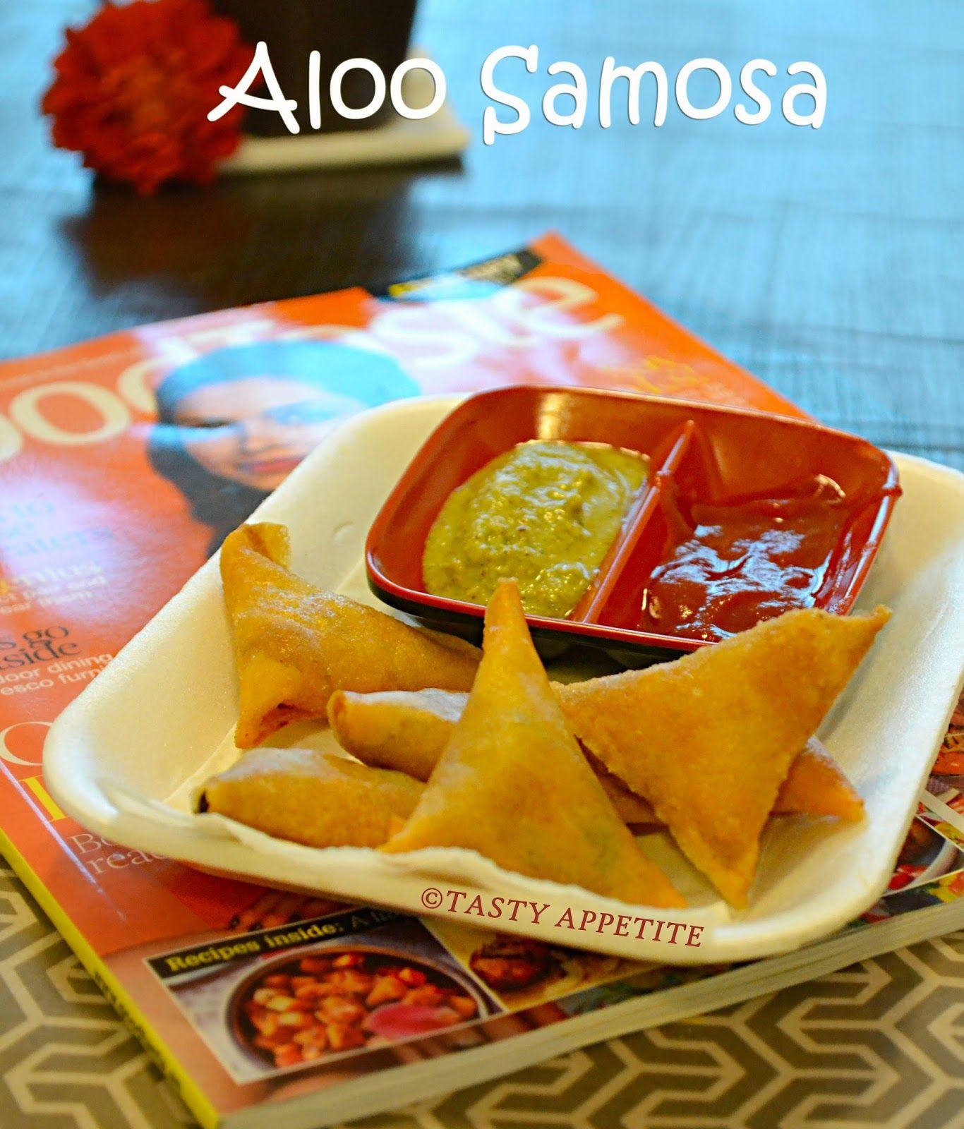 SAMOSA RECIPE / HOW TO MAKE POTATO SAMOSA / ALOO SAMOSA