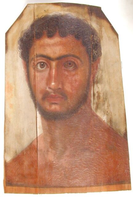 Mummy Portrait UC19610 -The Petrie Museum of Egyptian Archaeology, London.