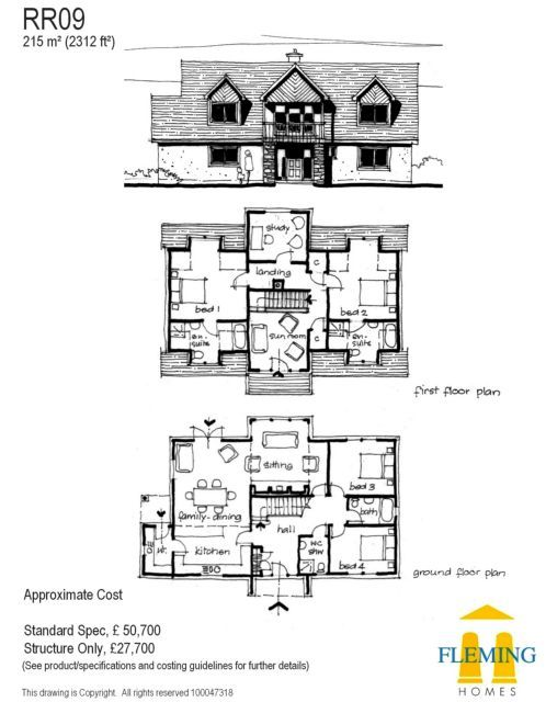 Timber Frame Self Build Houses Images Plans And Design Galleries Scotland Uk Self Build Houses Floor Plans How To Plan