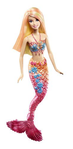 Amazon.com: Barbie Pink Color Change Mermaid Doll: Toys & Games