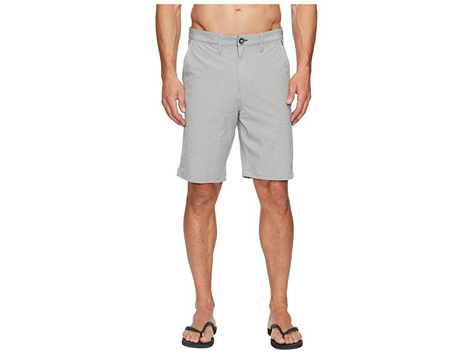 Billabong Crossfire X Shorts Grey Mens Shorts Take your street style to the extreme Quickdrying fabric blend with H2 Repel treatment Fourway superior stretch for unrestri...