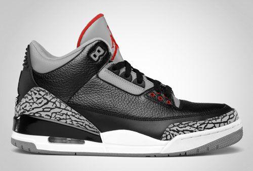 on sale 3c5b6 5ceab Jordan Black Cement 3s