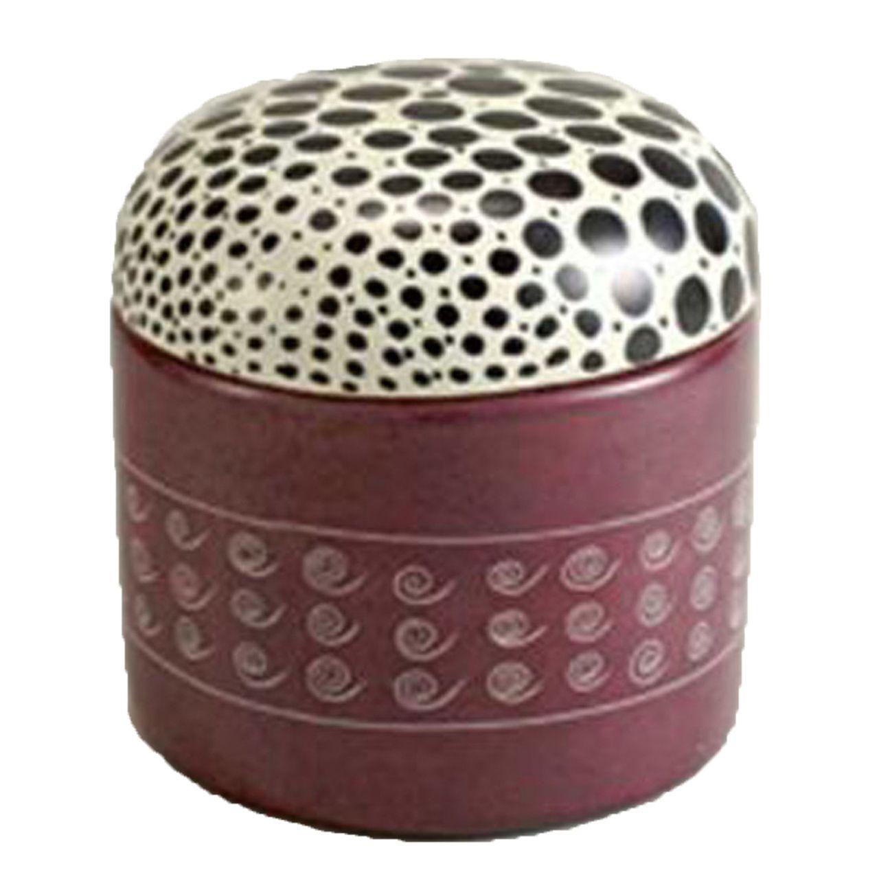 Decorative Round Boxes Decorative Boxes Stone Keepsake Box Spotted Animals Design