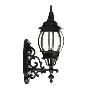 The U0027Lode Lightingu0027 Large Flinders Coach Lamp In Antique Black (Code:  LOIWBFLINLABK