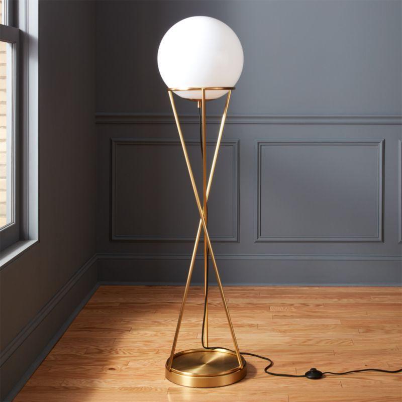 Modern Floor Lamps Home Interior Design Ideas In 2020 Globe Floor Lamp Modern Floor Lamps Floor Lamp
