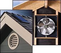 Solar Star Gable End Attic Fan Conversion Kit Http Woodheatstoves Com Solar Products Solar Attic Fans C 497 8 Diy House Renovations Attic Fan Solar Attic Fan
