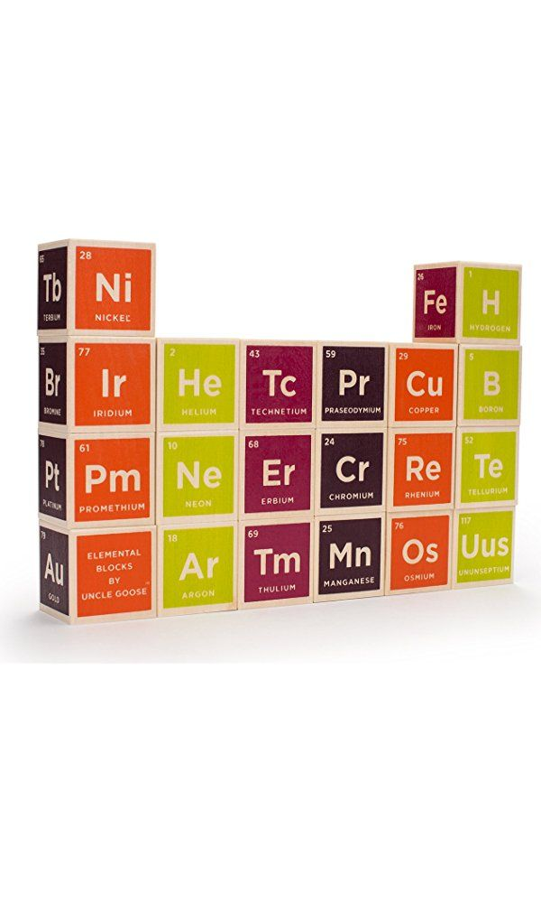 Uncle Goose Periodic Table Blocks - Made in USA Best Price