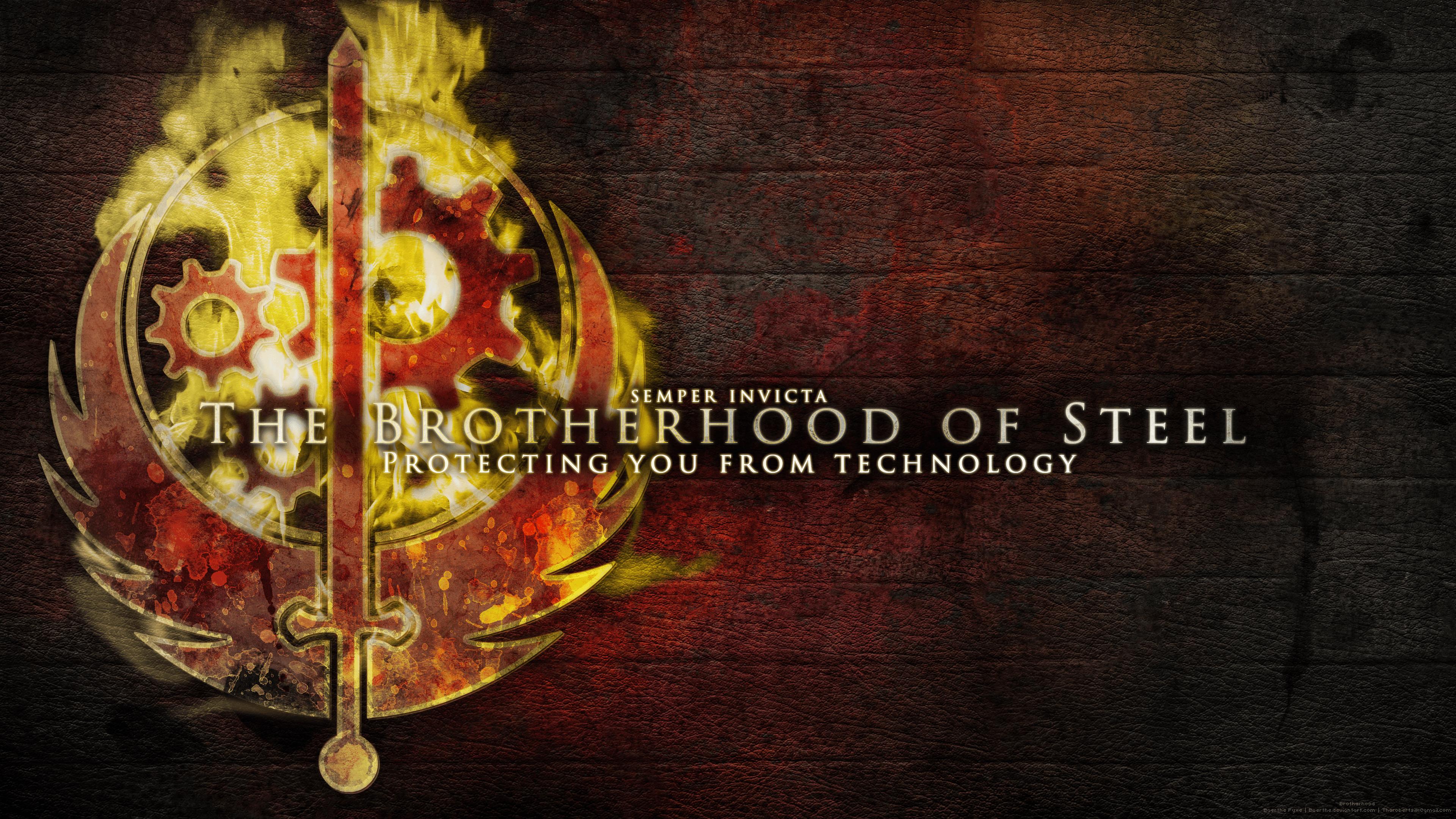 Image Result For Brotherhood Of Steel Wallpaper