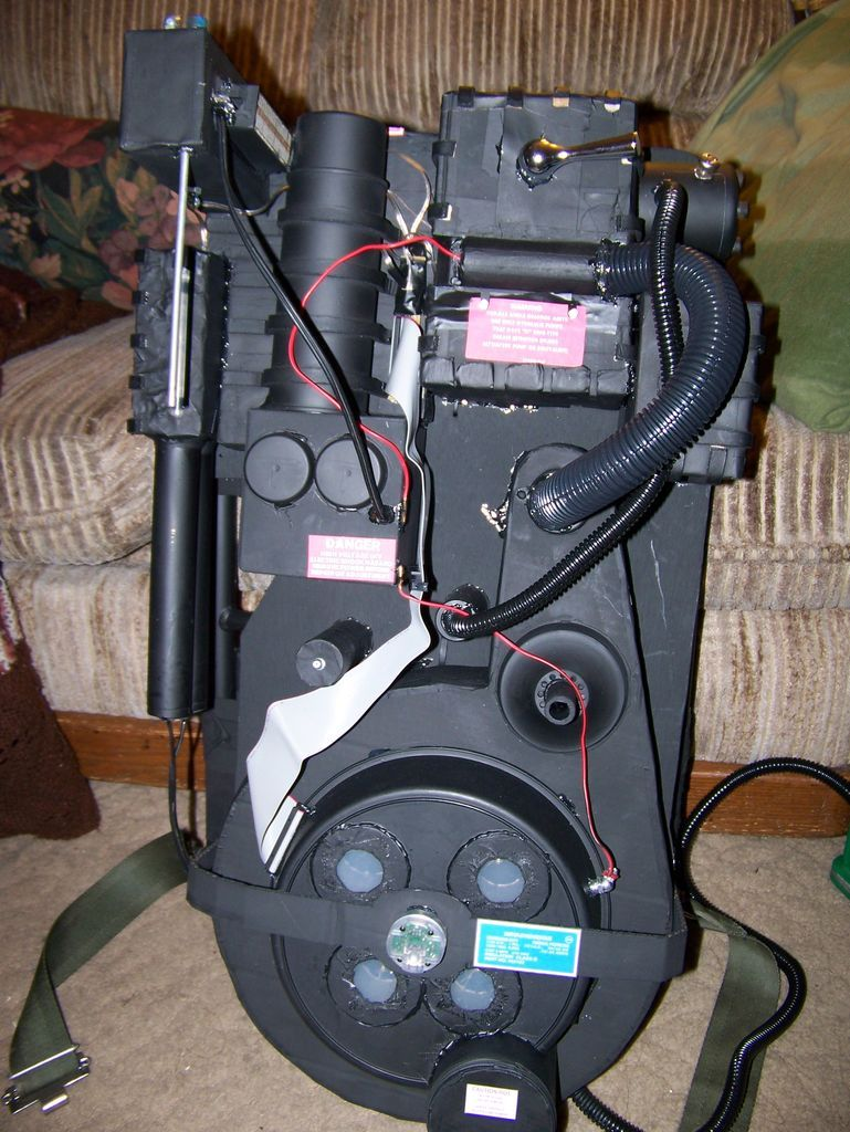 ghostbusters proton pack for halloween ghostbusters. Black Bedroom Furniture Sets. Home Design Ideas