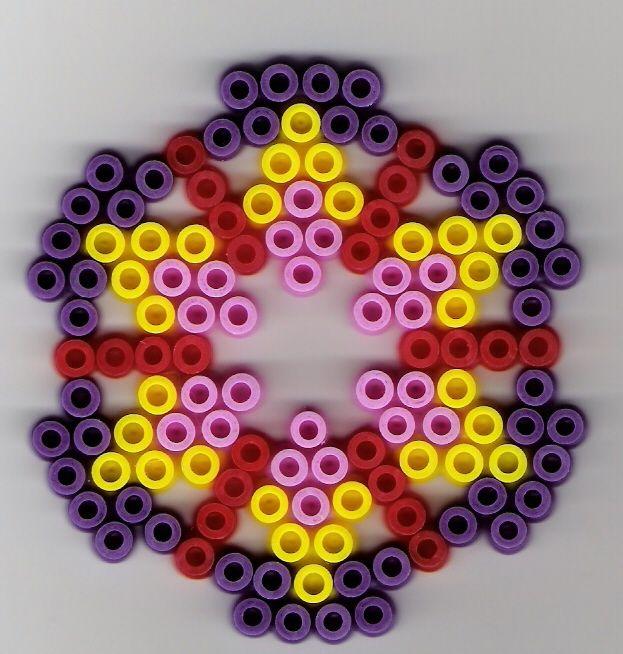Kreis B 252 Gelperlen Circle Perler Beads B 252 Gelperlen