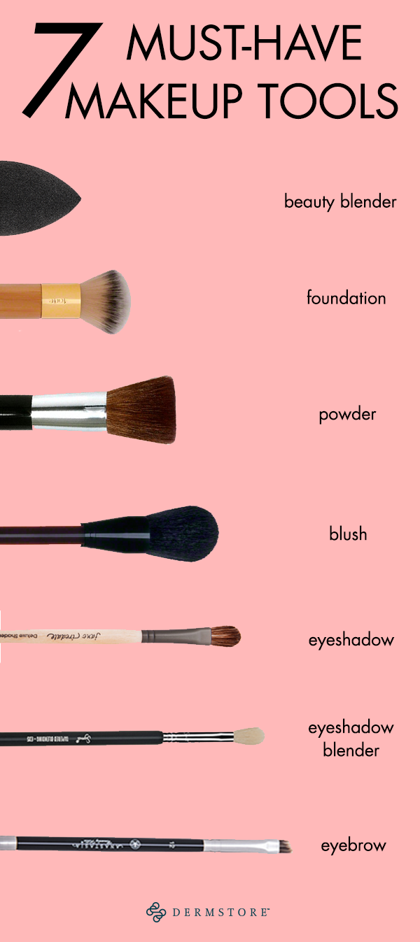The only 7 makeup tools youll ever need in your beauty arsenal Missing any