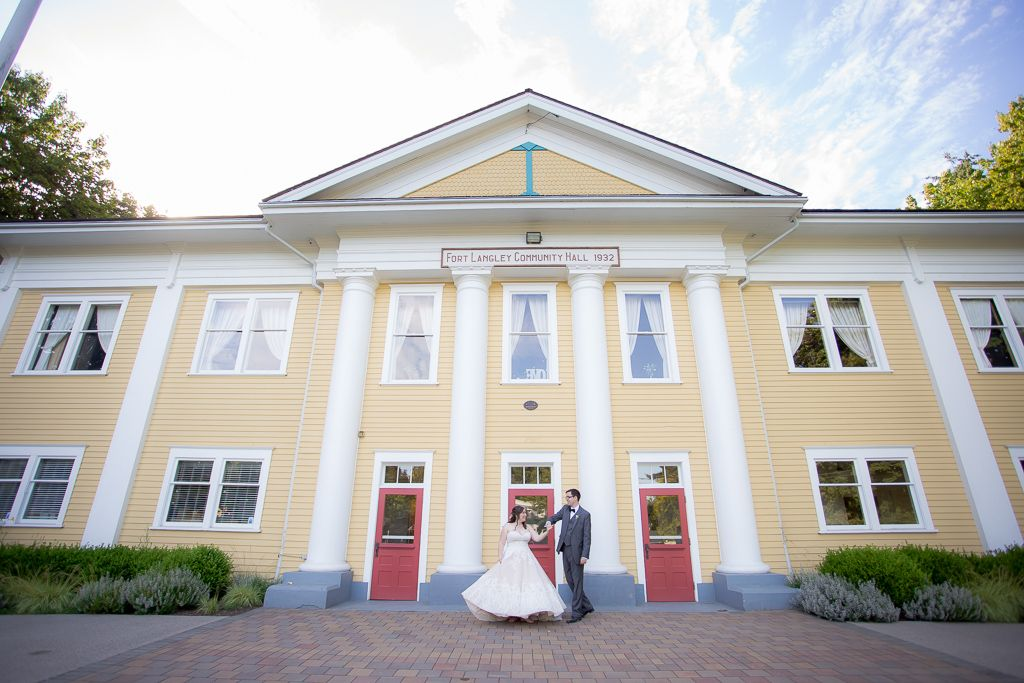 Fort Langley Wedding At The Fort Langley Community Hall