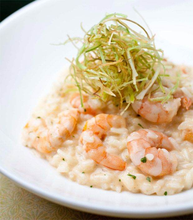 risoto, camarão, alho0poró, receita, mascarpone, como fazer, foto