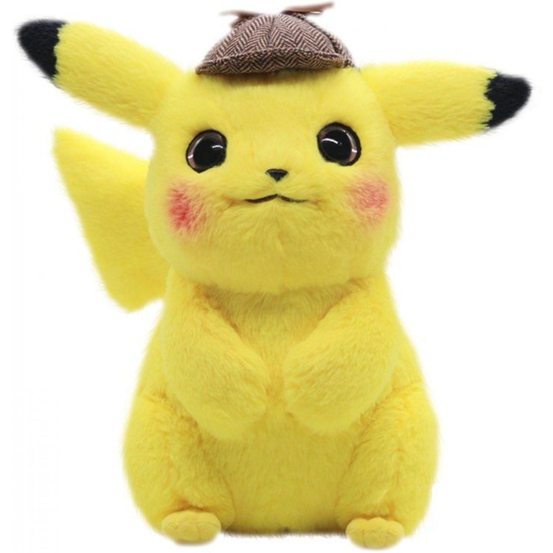 Pokemon Plush Big Detective Pikachu Movie Ver. * Size