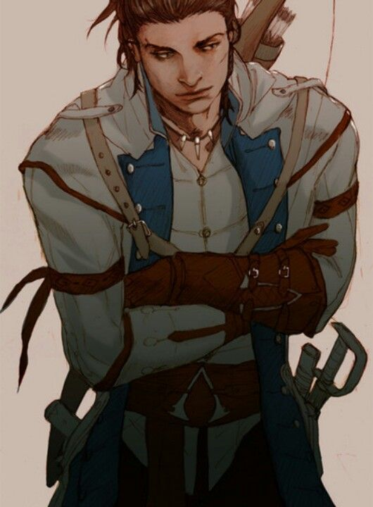 Good Fan Art Of Connor Assassins Creed Assassins Creed Art