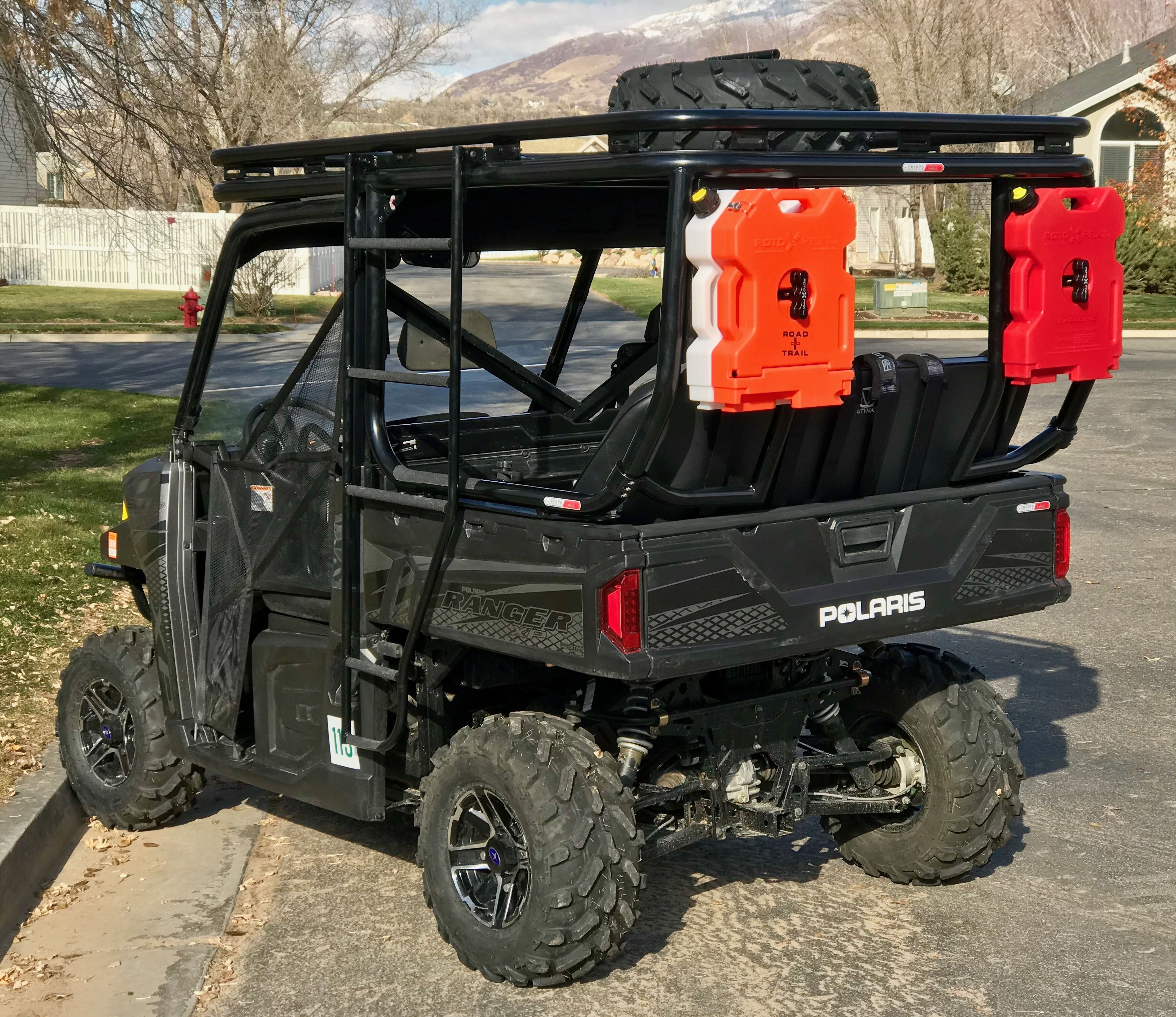 Cryptocage Introduces The Kong Cage For The Polaris Ranger 900 And 1000 The Kong Polaris Ranger Polaris Ranger Roll Cage Extension Polaris Ranger Accessories