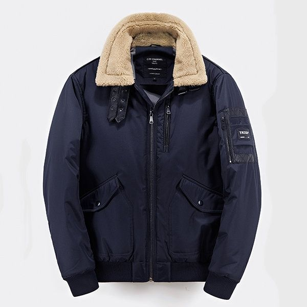 Threadbare Mens Dodge Padded MA1 Bomber Jacket Lightweight Zip Up Quilted Coat