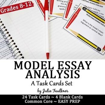 Different types of essay quiz