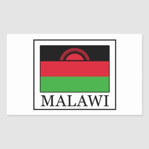 Malawi Sticker Zazzle Com Custom Stickers Malawi Flag Stickers