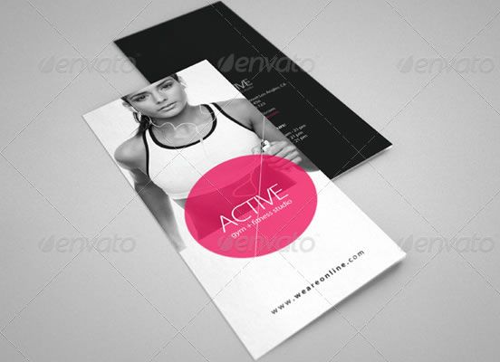 Fitness Tri-Fold Brochure 2 graphic design Pinterest - fitness brochure