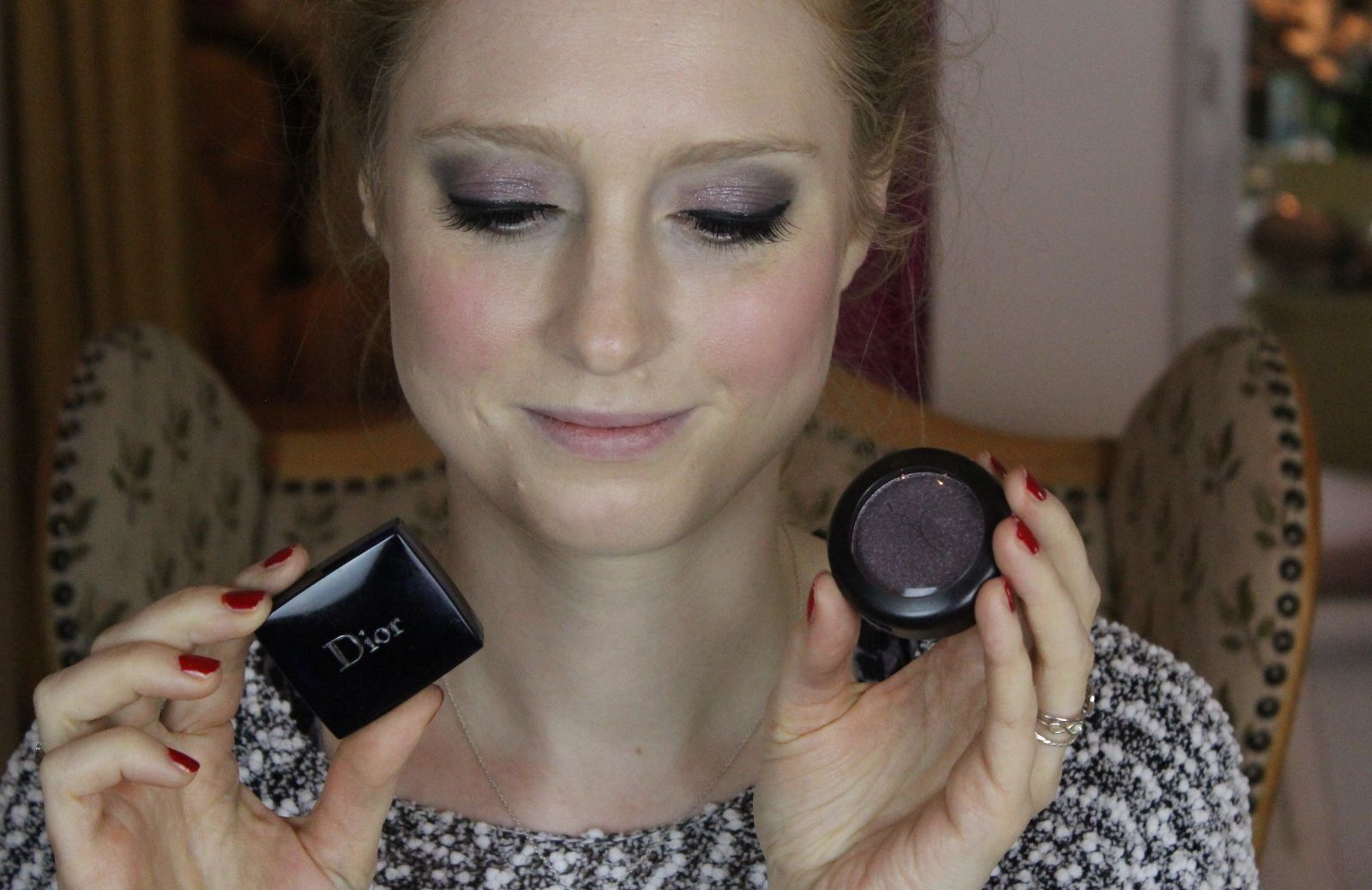frist ever Makeup Look on http://www.advance-your-style.de using #MAC and #DIOR Eyeshadow