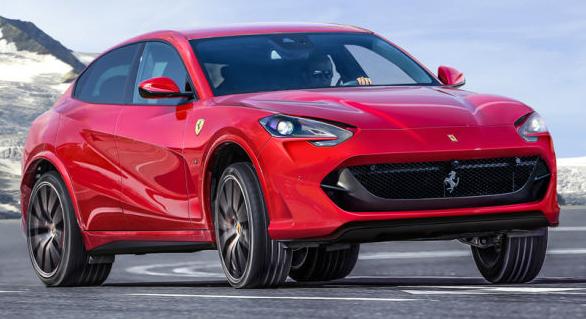 2020 Ferrari Suv Concept Exterior Changes Ferrari Suv Sport Suv