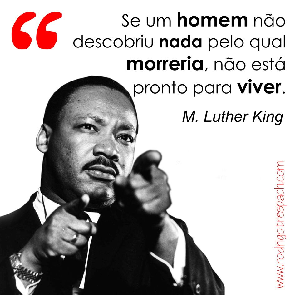 Martin Luther King Inspiração Luther Martin Luther King E