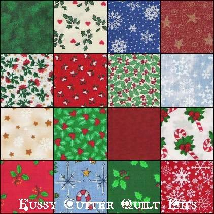 Easy+Christmas+Quilt+Block+Pattern | Christmas Patchwork Squares ... : pre cut quilt blocks - Adamdwight.com