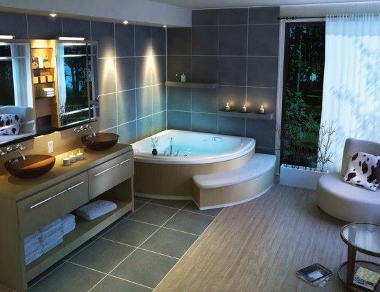 Have you heard about these stylish bathroom interior designs