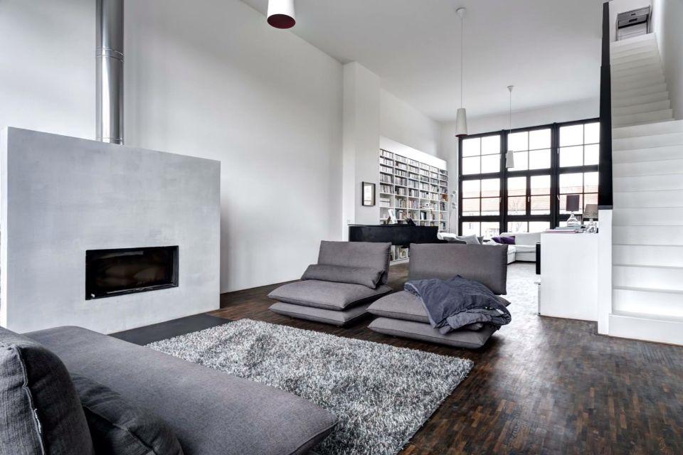 #Grey #White #Cosy #Livingroom