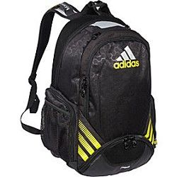 a40df5a024c3 Adidas Team Speed Backpack MSRP  74.99 Sale  49.95 Original Price  60.75  Available in Black Yellow